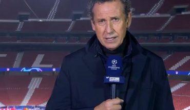 Sin consuelo: la emoción de Jorge Valdano en plena transmisión