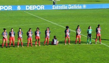 Una futbolista se negó a homenajear a Maradona y se puso de espaldas