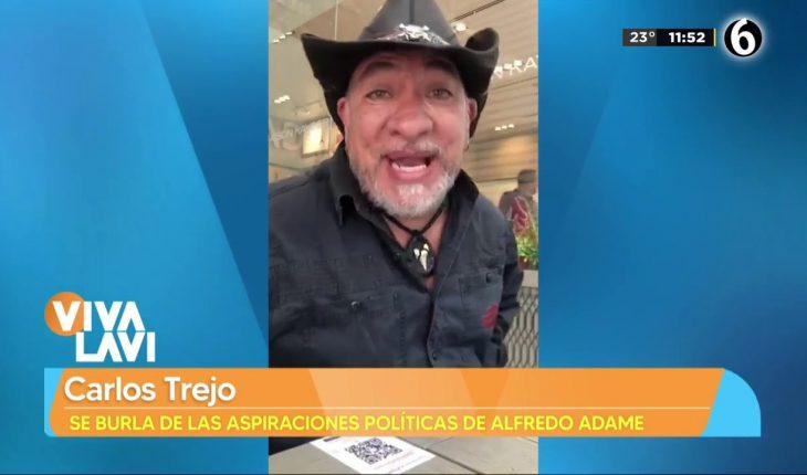 Carlos Trejo se burla otra vez de Alfredo Adame   Vivalavi