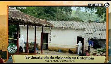Colombia es víctima de la violencia   La Bola del 6