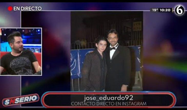 José Eduardo Derbez tiene malos recuerdos de sus papás   SNSerio