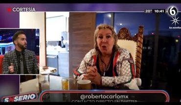 Roberto Carlo sufrió por pérdida de Magda Rodríguez | SNSerio