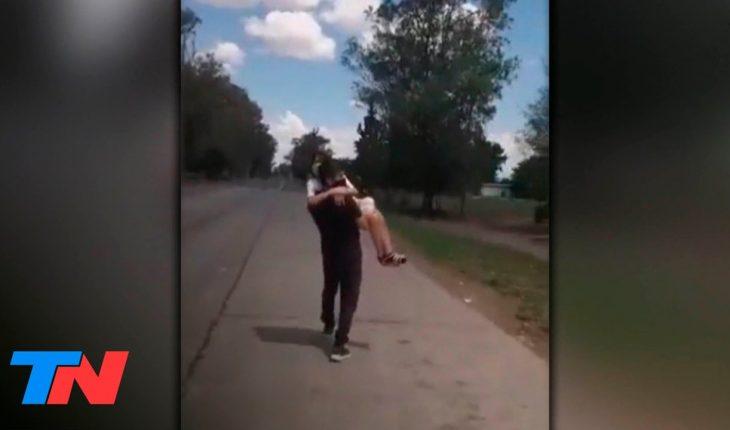 Santiago del Estero: cruzó con su hija enferma en brazos luego de que le negaran el ingreso