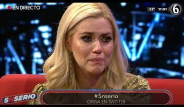 Yulianna Peniche llora por sus predicciones   SNSerio
