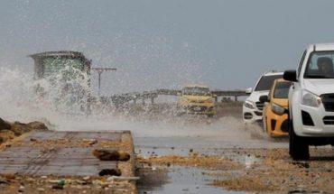 Videos del huracán Iota frente a costas de Nicaragua