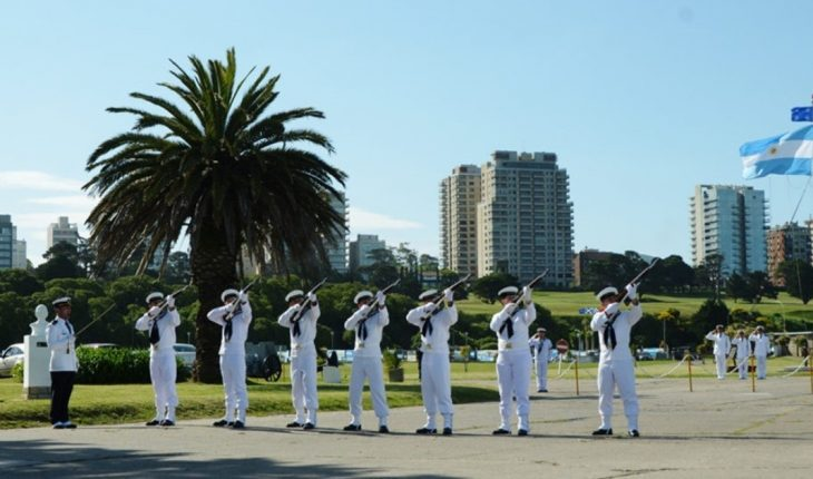 ARA San Juan: They will perform a ceremony in tribute to the 44 crew members