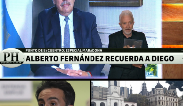 """Alberto Fernandez about Maradona: """"If I had to say something to Diego it would be """"thank you""""; Luque, Maradona's doctor: """"I'm absolutely sure I did my best with Diego""""; This Tuesday in Plaza de Mayo, producers will protest again with another """"fruit"""""""