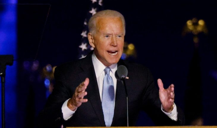 Alberto Fernandez contacted Joe Biden, President-elect of the United States