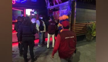 At least in Morelia there are 18 dens and bars that do not comply with Civil Protection documents