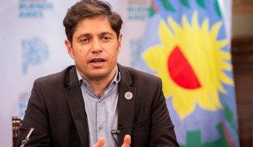 Axel Kicillof presented the draft Budget 2021 Bonaerense