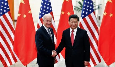 China congratulated Joe Biden on his election as President of the United States.