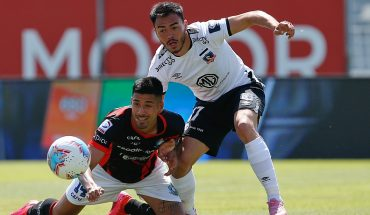 Colo Colo beats Deportes Antofagasta in the Monumental 1-0 and celebrates after eight months