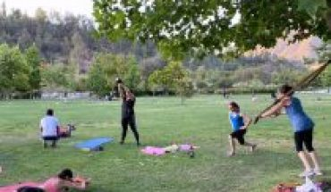 Commune launches application to do sports remotely or in person in squares, parks and clubs