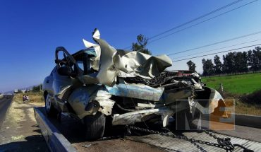 Crash between two vehicles and a tricycle leaves 3 dead in Cuitzeo