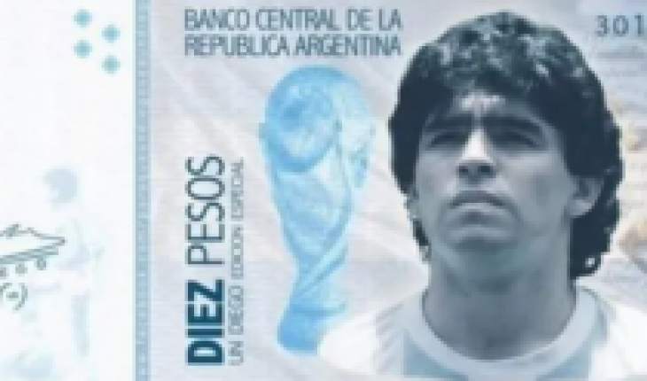 From the court to the market: They propose that Argentine 10 peso banknote carry the face of Diego Maradona