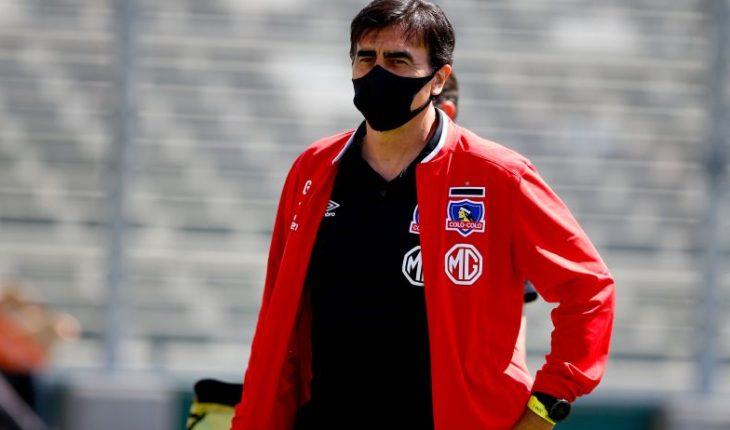 "Gustavo Quinteros after triumph against Antofagasta: ""Colo Colo was a just winner"""