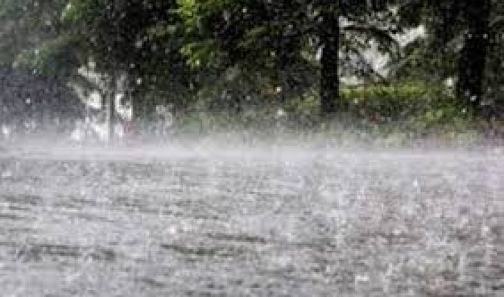 Heavy rains to torrential in southeastern Mexico