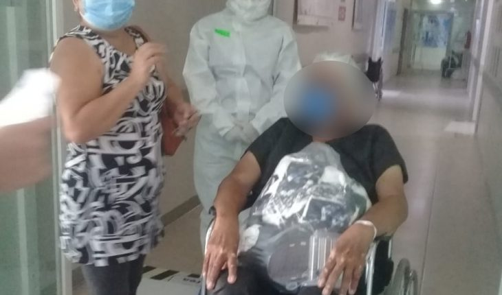 In Apatzingan, a 68-year-old man passed the Covid after 9 days of hospitalization