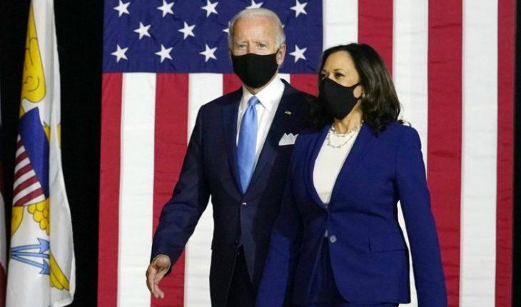 Joe Biden is america's new president and Kamala Harris makes history as first vice president