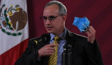 Lopez-Gatell calls on media to spread use of water cover