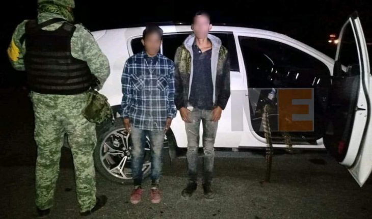 Military arrests 2 suspected members of crime cell