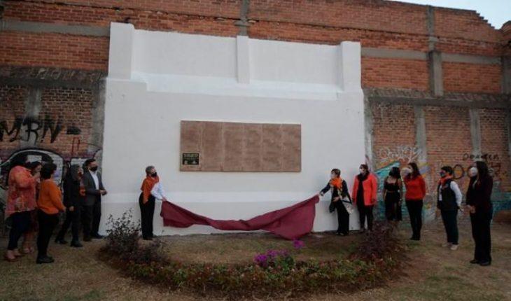 "Morelia government unveils ""Memorial"" to commemorate victims of femicide"