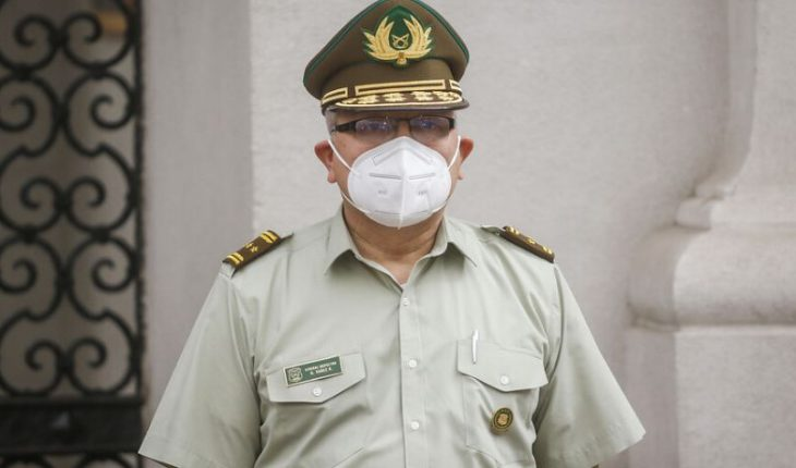 """Parliamentarians share audio of UDI deputy about carabineros' new managing general: """"He's more left-handed than the chu..."""""""