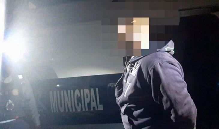 Policía Morelia detiene a un hombre en el momento justo que agredía a su ex pareja