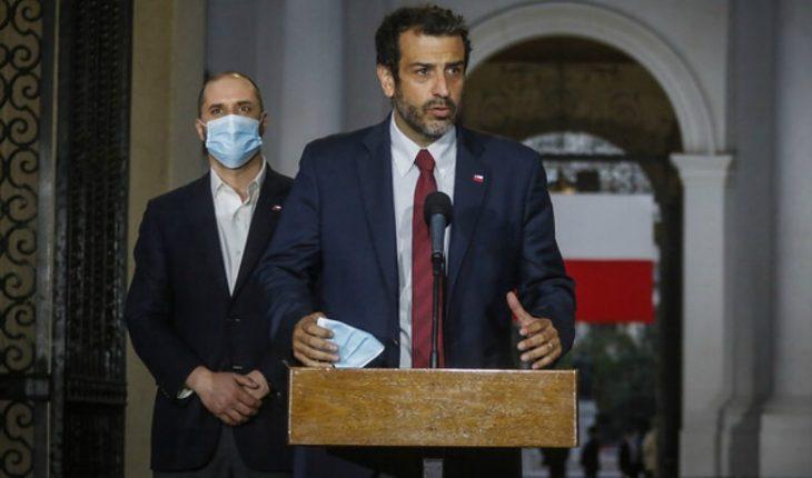 "Rodrigo Delgado assumed as the new Minister of the Interior: ""I have a very social imronta"""