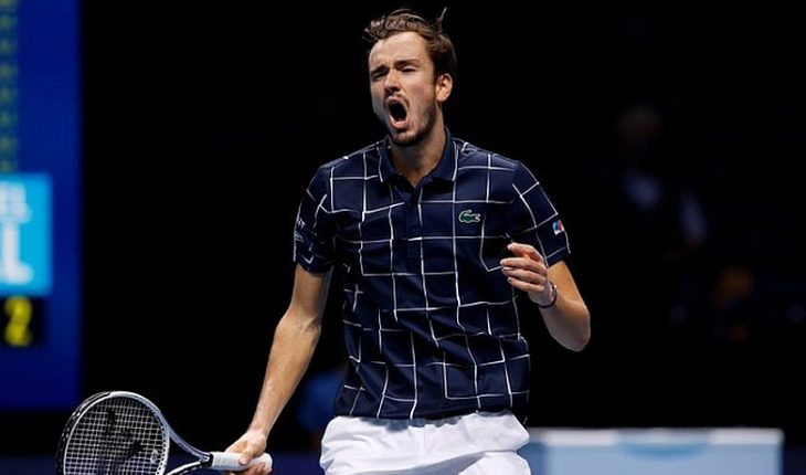 Russian Medvedev prevailed to Nicolas Massu's pupil in the Masters final in London