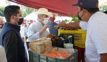 Seeks edil de Morelia to revive the economy in rural Morelia