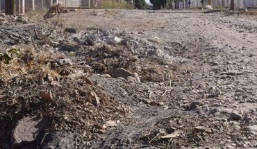 Some streets of Villa Benito Juárez need to be improved