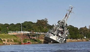 St. Peter's Alert: Tugboat Commander General Irigoyen sinks