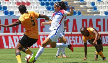 The Women's Red fell to Zambia in friendly for Olympic repechage