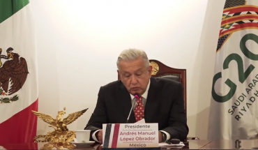 """""""The family is the main social security institution"""": AMLO at the G20"""