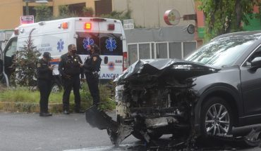 They arrest three people who caused crashes to assault on CDMX