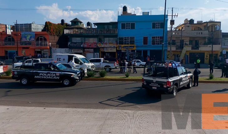 They end the life of a shooting motorist on Madero Avenue in Morelia