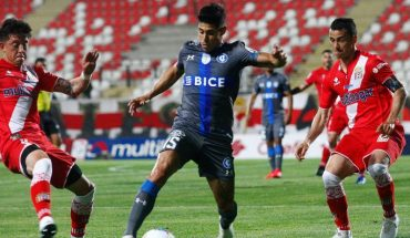 UC fails to retrace and ended up falling to Curicó Unido in resumption