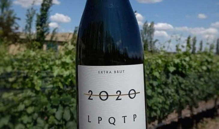 """[VIRAL] """"2020 LPQTP"""" the wine specially christened to dismiss this year that remittances the nets"""