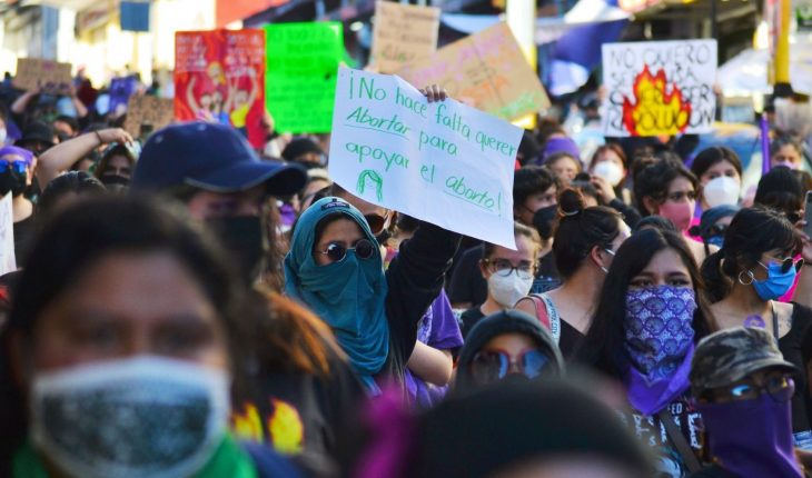 Women protested in various cities of the country against sexist violence