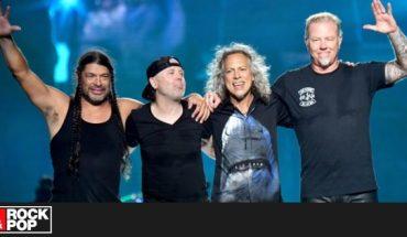 ¡Metallica tuvo más de 1.100 reproducciones en Spotify este año!