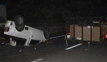 Accidente vehicular en la Carretera México 15 deja un muerto