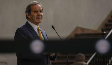 """Allamand aseguró que cuando termine el mandato de Piñera """"se va a apreciar mucho mejor su gestión"""""""