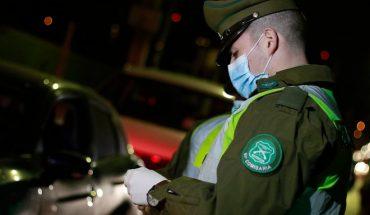 Carabineros reportó que desde marzo se han detectado 99 fiestas clandestinas: 1.493 personas han sido detenidas