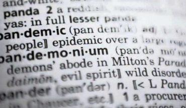 """Dictionary.com eligió """"pandemia"""" como la palabra del año"""