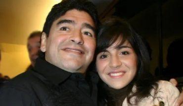 """El emotivo recuerdo de Gianinna Maradona con Diego: """"Los amo estemos donde estemos"""""""