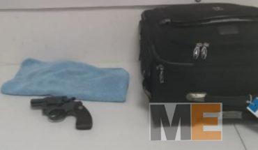 """Empistolado es detenido en el """"Aeropuerto de Morelia"""", trataba de viajar a Dallas"""