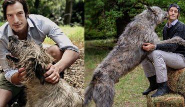 Furor en las redes sociales por el perro gigante de Ivan de Pineda
