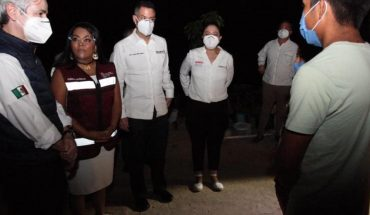 Gobernador inaugura obras del programa Luces de Esperanza