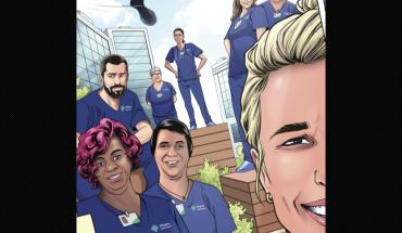 Lanzan cómic en homenaje a los enfermeras que libran la batalla contra el COVID-19 Marvel lanza comic en homenaje a enfermeras que luchan contra COVID-19